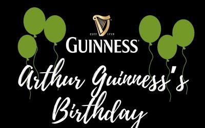 Arthur Guinness Birthday Bash